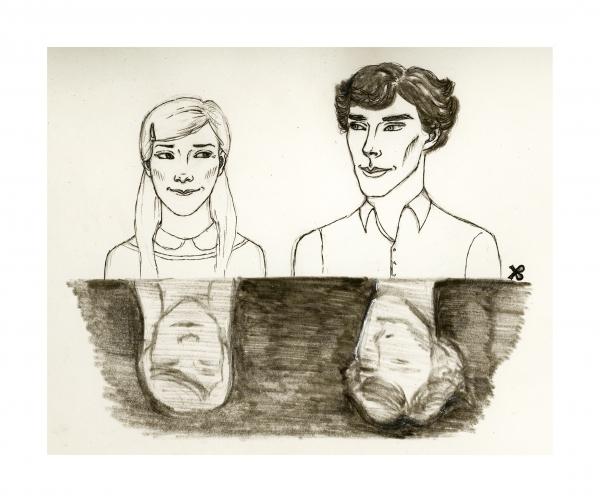 Louise Brealey, Benedict Cumberbatch par Fiona